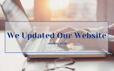 We Updated Our Website